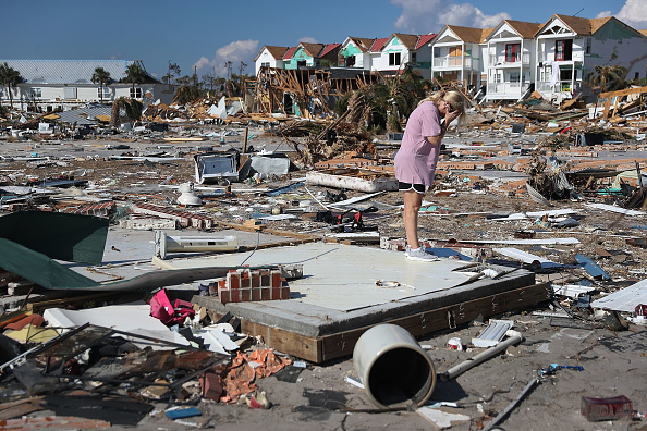 Hurricane - Storm「Recovery Efforts Continue In Hurricane-Ravaged Florida Panhandle」:写真・画像(4)[壁紙.com]
