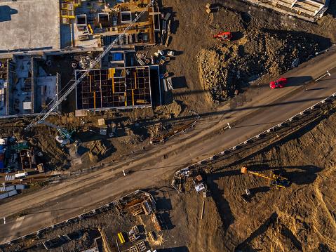 Dirt Road「Top view-Construction site」:スマホ壁紙(17)