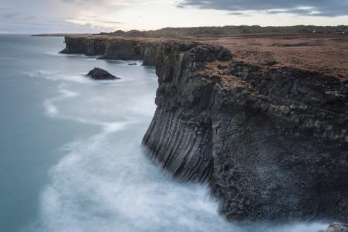 Basalt「Basalt cliffs, Arnastapi, Iceland」:スマホ壁紙(14)