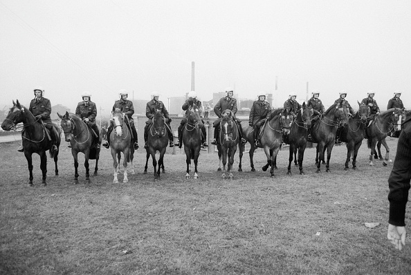 Mid Adult「Mounted Police Line」:写真・画像(12)[壁紙.com]