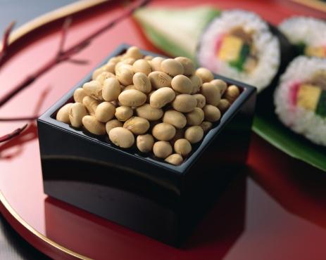 Setsubun「Roasted soybeans」:スマホ壁紙(14)