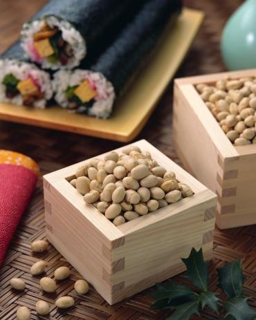 Setsubun「Roasted soybeans」:スマホ壁紙(13)