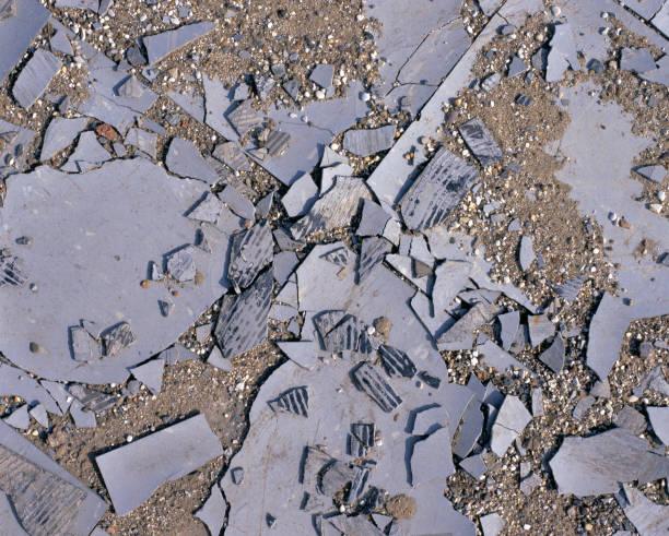 Broken floor tiles in brownfield site:ニュース(壁紙.com)