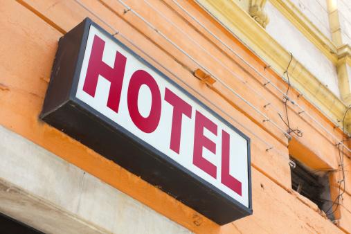 Inexpensive「Hotel sign」:スマホ壁紙(3)