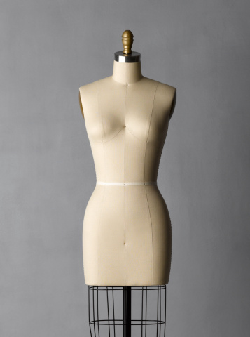 Female Likeness「Dress form on grey background」:スマホ壁紙(4)