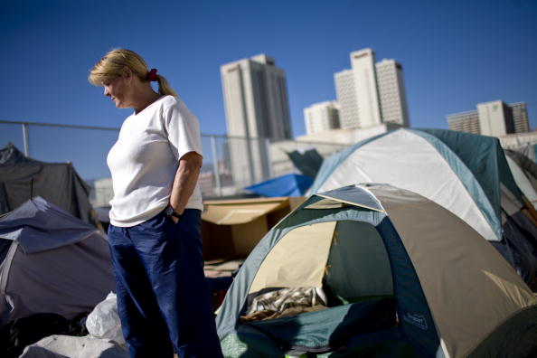 Homelessness「City Of Reno Sets Up Tent City For Homeless」:写真・画像(8)[壁紙.com]