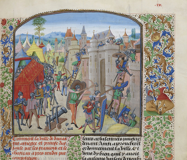 Nouvelle-Aquitaine「Siege Of The Château De Duras By The French In 1377」:写真・画像(14)[壁紙.com]