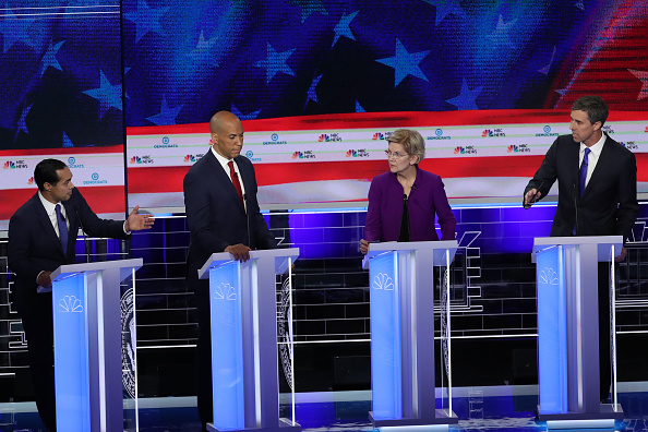 Democracy「Democratic Presidential Candidates Participate In First Debate Of 2020 Election Over Two Nights」:写真・画像(13)[壁紙.com]