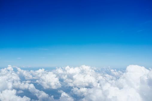 Cumulus Cloud「Blue Sky background with Clouds」:スマホ壁紙(3)