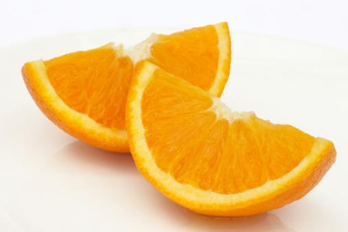 Orange - Fruit「Two ripe, juicy Jaffa orange quarters」:スマホ壁紙(16)