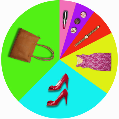 ガーリー「Pie chart shows female luxury spending preferences」:スマホ壁紙(5)