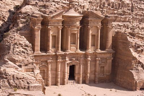 UNESCO「Red Stone Monastery at Petra, Jordan」:スマホ壁紙(16)