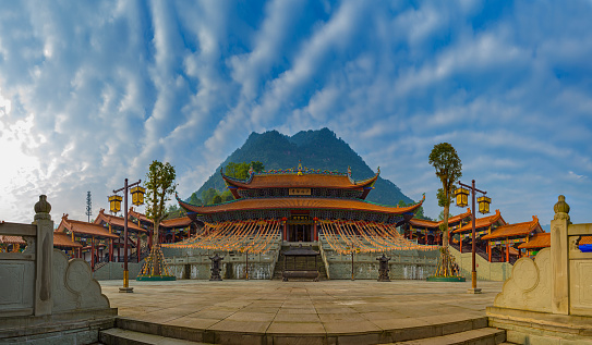 Public Utility「West Shaolin Temple,Chongqing,China」:スマホ壁紙(14)