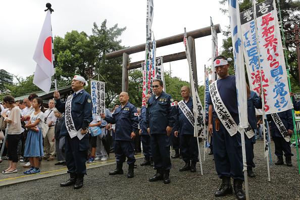 東京「Japan Marks 72nd Anniversary Of WWII Surrender」:写真・画像(2)[壁紙.com]