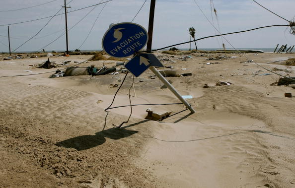 Gilchrist - Texas「Coastal Texas Faces Heavy Damage After Hurricane Ike」:写真・画像(5)[壁紙.com]