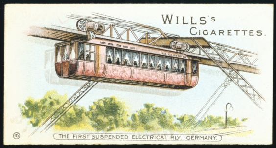 20th Century Style「Barmen-Elberfeld overhead monorail, 1901」:スマホ壁紙(6)