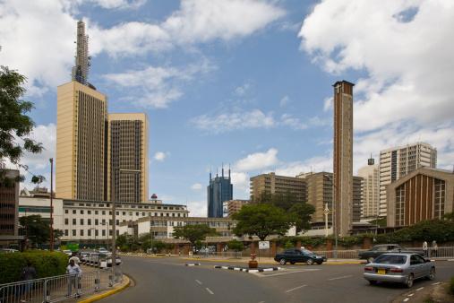Kenya「Kenya, downtown Nairobi.」:スマホ壁紙(5)