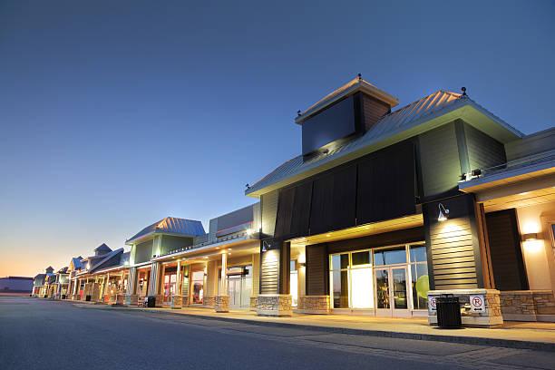 Modern Marketplace Store Exteriors:スマホ壁紙(壁紙.com)