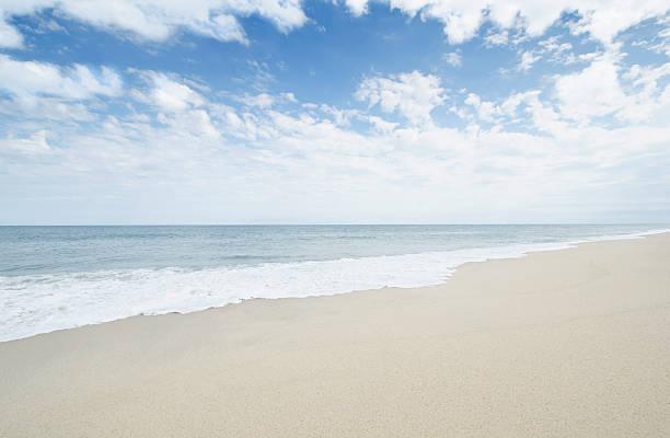 USA, Massachusetts, Nantucket, Empty sandy beach:スマホ壁紙(壁紙.com)