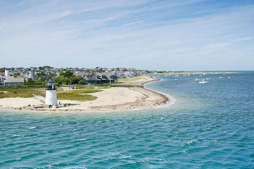Nantucket「USA, Massachusetts, Nantucket, Seascape with Brant Point Light」:スマホ壁紙(15)