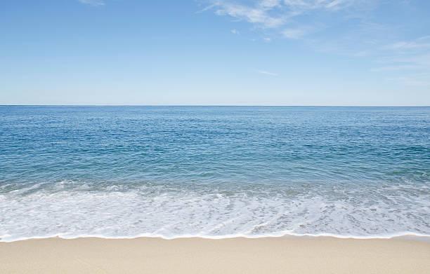 USA, Massachusetts, Nantucket Island, Great Point, Beach with blue sky:スマホ壁紙(壁紙.com)