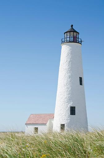 Whitewashed「USA, Massachusetts, Nantucket Island, Great Point Lighthouse」:スマホ壁紙(16)