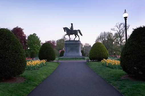 Horse「Massachusetts, Boston, Statue of George Washington in Boston Public Garden」:スマホ壁紙(14)