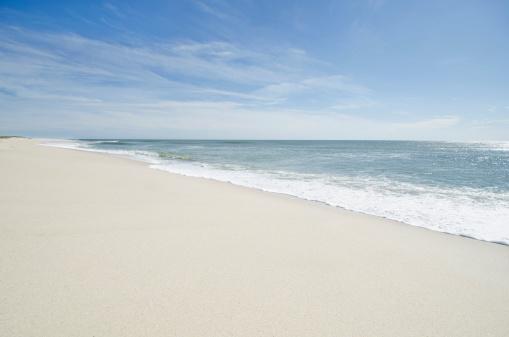 ビーチ「USA, Massachusetts, Nantucket, Nantucket Island, Tranquil sandy beach」:スマホ壁紙(13)