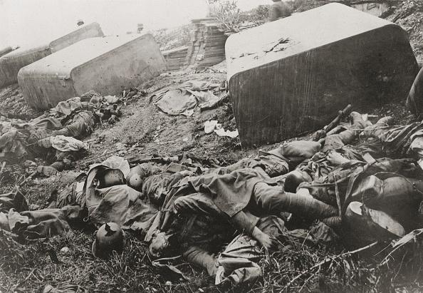 歩兵「Battles with many dead soldiers at the barrage of...」:写真・画像(7)[壁紙.com]