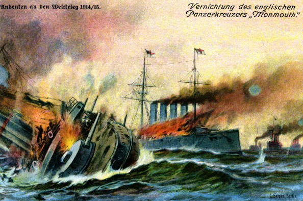 Pacific Ocean「World War I:Sinking of British armoured cruiser」:写真・画像(18)[壁紙.com]