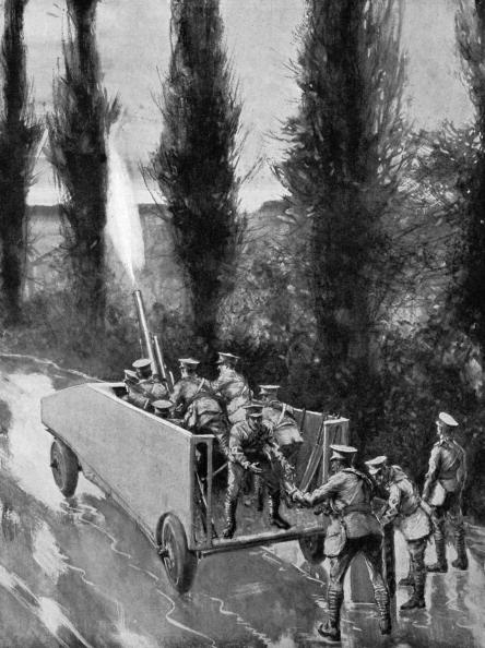 Land Vehicle「World War I armoured car」:写真・画像(3)[壁紙.com]