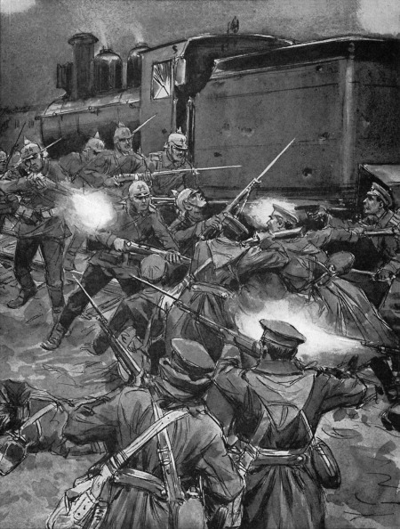Caucasian Ethnicity「World War I- Russian - German skirmish」:写真・画像(5)[壁紙.com]