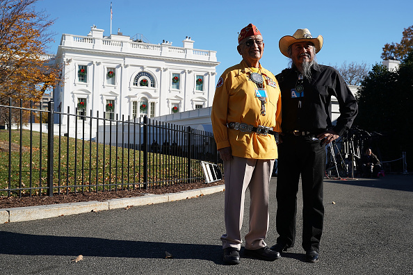 Navajo Culture「President Trump Honors Native American Code Talkers At White House」:写真・画像(16)[壁紙.com]