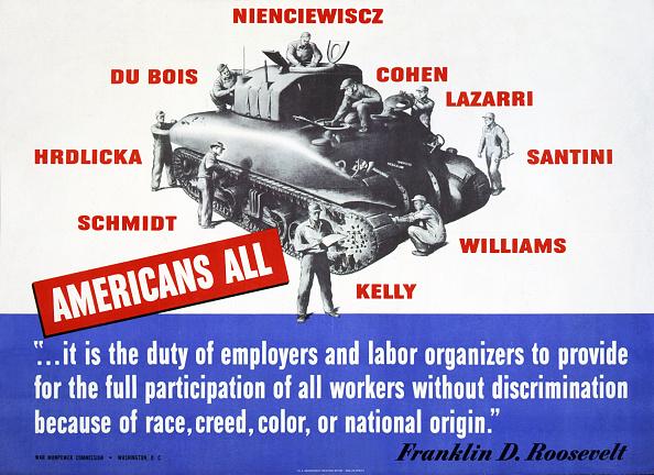 Franklin Roosevelt「WW2 Poster USA」:写真・画像(4)[壁紙.com]