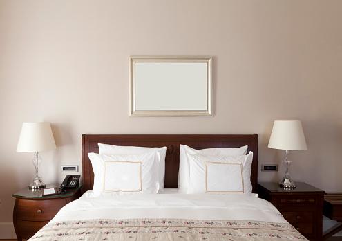 Curtain「Luxury home bedroom」:スマホ壁紙(16)
