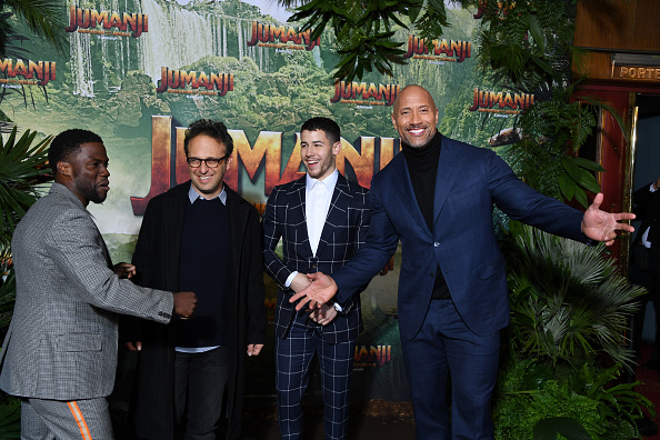 "Film Premiere「""Jumanji"" : Welcome to the Jungle -Jumanji : Bienvenue dans la jungle-"" Paris Premiere at Le Grand Rex」:写真・画像(6)[壁紙.com]"