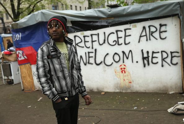 Refugee「Oranienplatz Refugees, Amidst Dissent, Accept Housing Offer」:写真・画像(13)[壁紙.com]