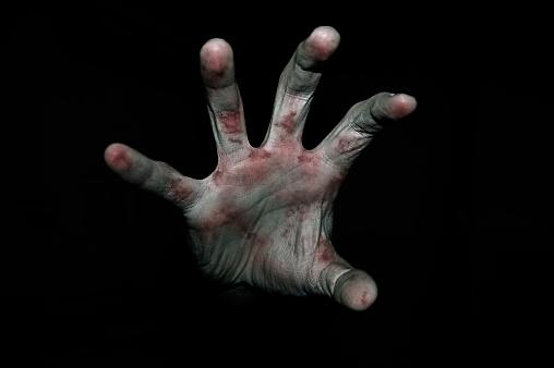 雪「Hand in blood」:スマホ壁紙(6)