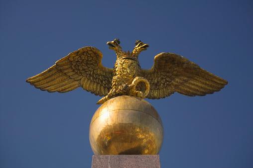 Double-headed Eagle「Globe and Double-headed Eagle Atop Monument」:スマホ壁紙(1)
