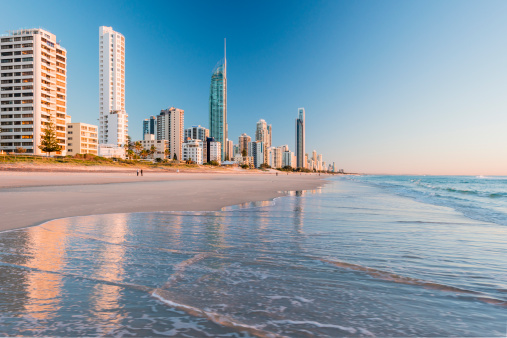 Queensland「Surfers Paradise from Surfers Paradise Beach」:スマホ壁紙(11)