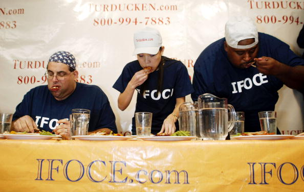 Breast「100 LB Woman Wins Thanksgiving Dinner Eating Contest」:写真・画像(13)[壁紙.com]