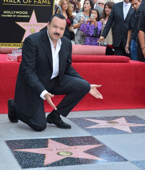 カリフォルニア州ハリウッド「Pepe Aguilar Honored On The Hollywood Walk Of Fame」:写真・画像(7)[壁紙.com]