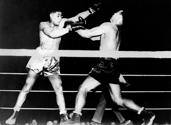 Boxer Joe Louis「Primo Carnera und Joe Louis」:写真・画像(19)[壁紙.com]