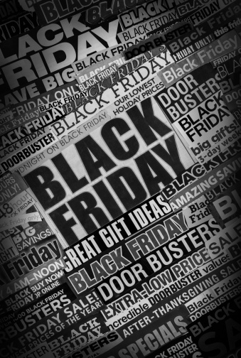 Black Friday「tilted black friday newspaper collage」:スマホ壁紙(4)