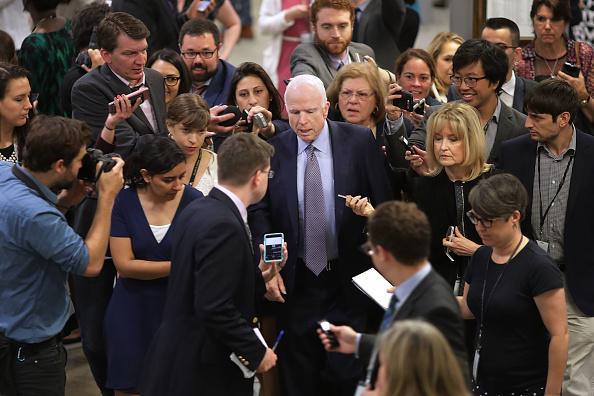 Strategy「Senate Lawmakers Speak To Press After Weekly Policy Luncheons」:写真・画像(9)[壁紙.com]