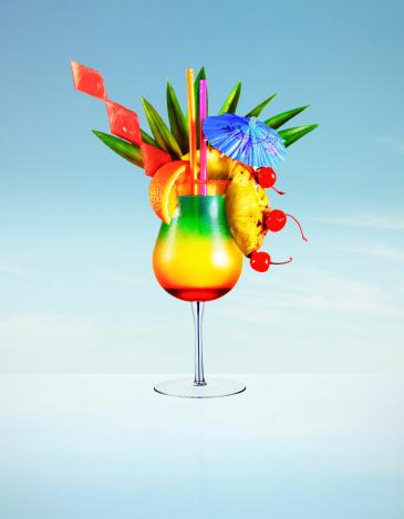 Cocktail「Hugh colourful cocktail」:スマホ壁紙(18)