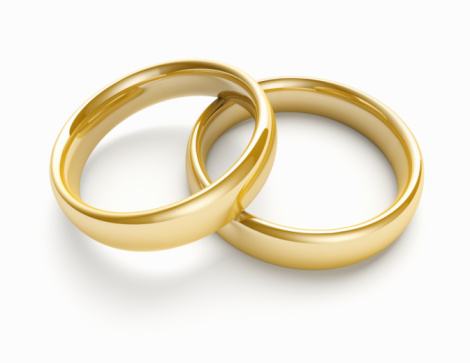 Gold「Pair of wedding bands」:スマホ壁紙(2)