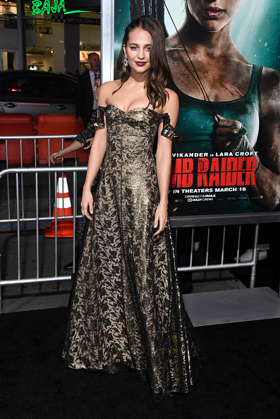 "Alicia Vikander「Premiere Of Warner Bros. Pictures' ""Tomb Raider"" - Arrivals」:写真・画像(11)[壁紙.com]"