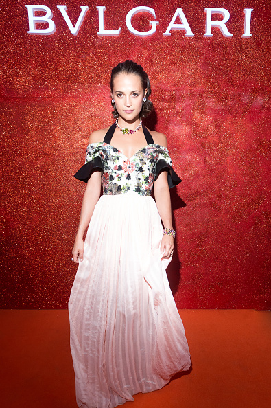 Alicia Vikander「Bulgari exhibition At Kremlin Museum & Opening Events」:写真・画像(9)[壁紙.com]