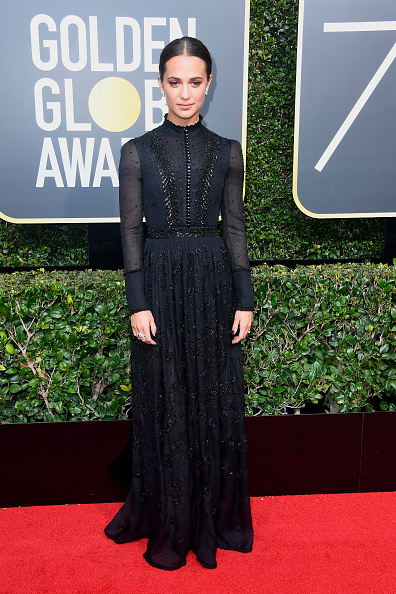 Alicia Vikander「75th Annual Golden Globe Awards - Arrivals」:写真・画像(1)[壁紙.com]